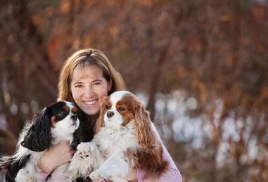 Dr Johanna with 2 dogs